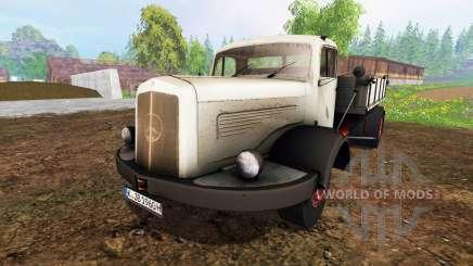 Mercedes-Benz 334K v1.05 для Farming Simulator 2015