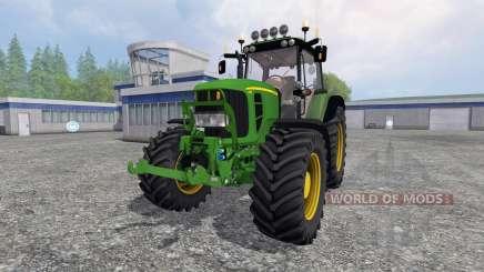 John Deere 7430 Premium v1.2 для Farming Simulator 2015