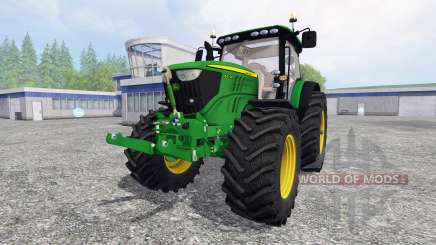 John Deere 6210R v1.0 для Farming Simulator 2015