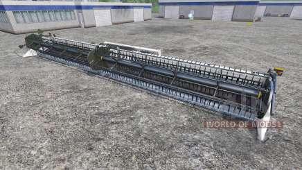 New Holland Super Flex Draper 45FT [white] для Farming Simulator 2015