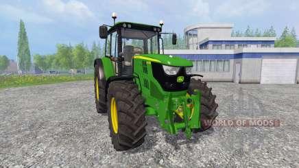 John Deere 6115M [pack] для Farming Simulator 2015