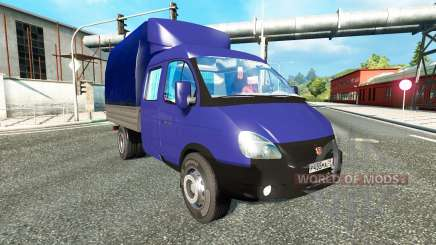 ГАЗ-3302 для Euro Truck Simulator 2