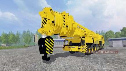 Liebherr LTM 11200 9.1 [Caterpillar] v2.0 для Farming Simulator 2015