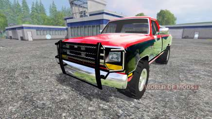 Dodge D-250 v1.1 для Farming Simulator 2015