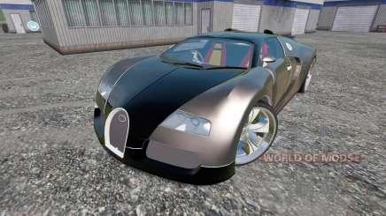 Bugatti Veyron v2.0 для Farming Simulator 2015