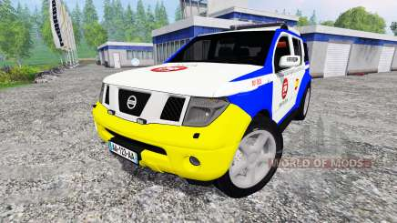 Nissan Pathfinder Police для Farming Simulator 2015