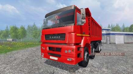 КамАЗ-65802 8x4 v2.0 для Farming Simulator 2015