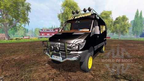 Mercedes-Benz Sprinter v2.0 для Farming Simulator 2015