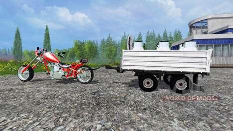 Harley-Davidson [final] для Farming Simulator 2015