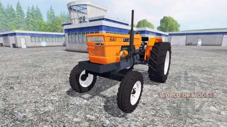 Fiat 640 v2.0 для Farming Simulator 2015