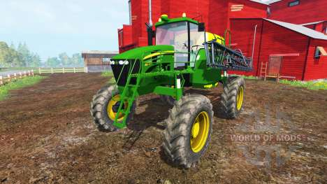 John Deere 4730 Sprayer v1.1 для Farming Simulator 2015
