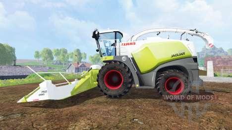 CLAAS Jaguar 870 v3.0 для Farming Simulator 2015