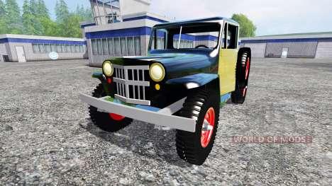 Jeep Pickup 1956 для Farming Simulator 2015