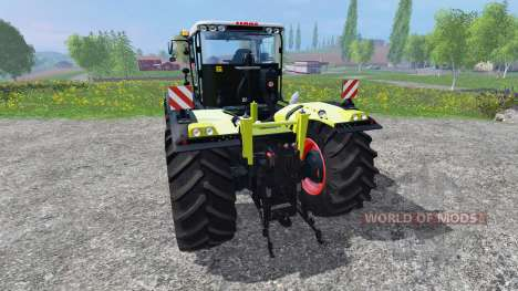 CLAAS Xerion 4500 v2.5 для Farming Simulator 2015