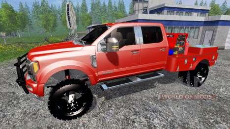 Ford F-450 2017 [welding rig] для Farming Simulator 2015