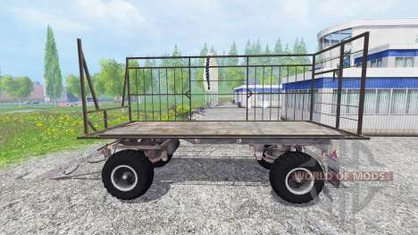 Fortschritt HW 80 Ball Grid Cart для Farming Simulator 2015