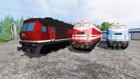 Локомотивы для Farming Simulator 2015