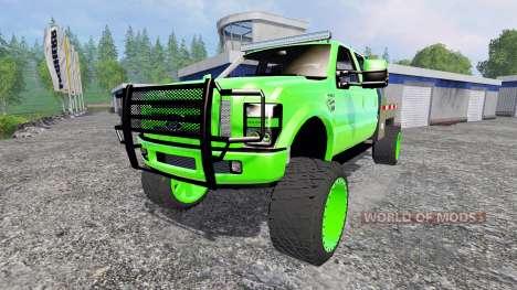 Ford F-350 [lifted] для Farming Simulator 2015