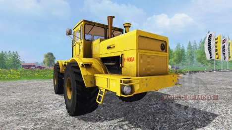 К-700А Кировец 4x4 для Farming Simulator 2015