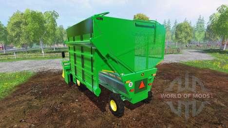 John Deere 9965 v2.0 для Farming Simulator 2015