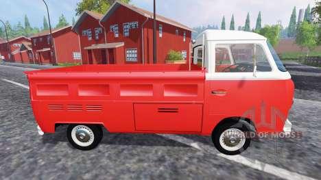 Volkswagen Transporter T2B 1972 [Bully] для Farming Simulator 2015