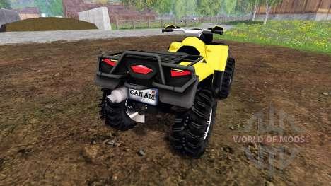 Can-Am Outlander 1000 XT Kompressor для Farming Simulator 2015