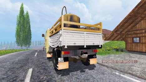 Robur LD 3000 в трафике для Farming Simulator 2015