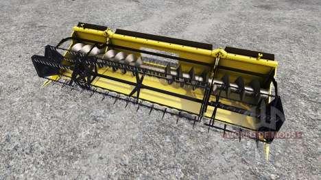 Geringhoff HS660 TL [folding cutterbar] v2.0 для Farming Simulator 2015