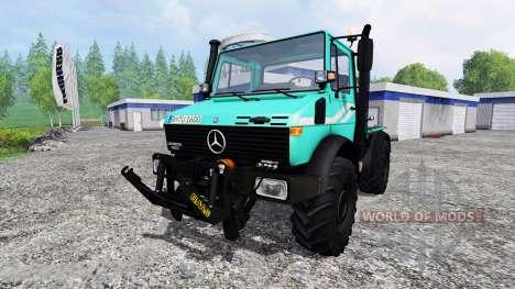 Mercedes-Benz Unimog U1600 для Farming Simulator 2015