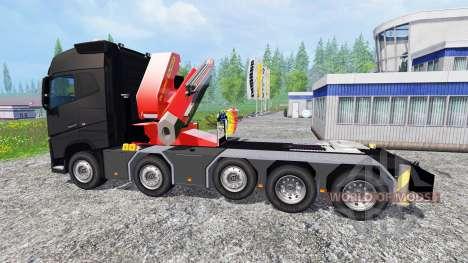 Volvo FH16 750 10X4 для Farming Simulator 2015
