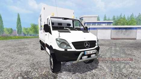 Mercedes-Benz Sprinter v0.5 для Farming Simulator 2015