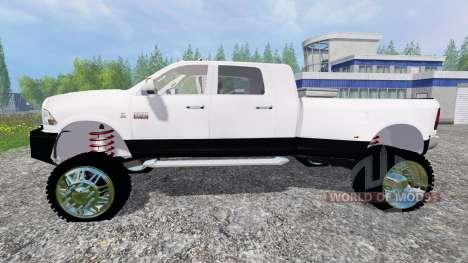 Dodge Ram 3500 2015 [custom] для Farming Simulator 2015