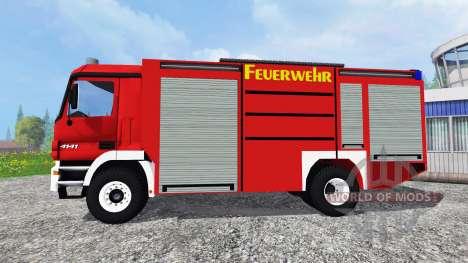 Mercedes-Benz Actros [feuerwehr] для Farming Simulator 2015