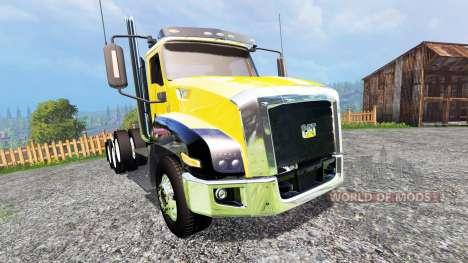 Caterpillar CT660 v2.0 для Farming Simulator 2015