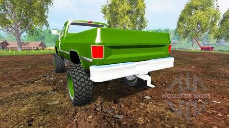Chevrolet K5 Blazer M1008 для Farming Simulator 2015
