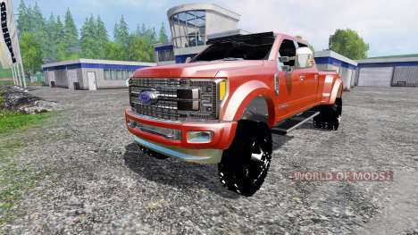 Ford F-450 2017 [platinum] v2.0 для Farming Simulator 2015