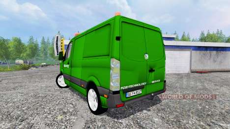 Volkswagen Crafter Service для Farming Simulator 2015