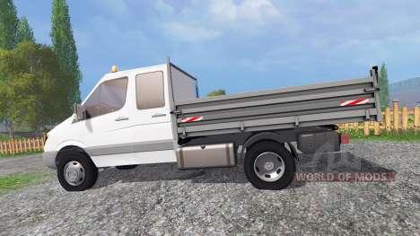 Mercedes-Benz Sprinter Kipper для Farming Simulator 2015