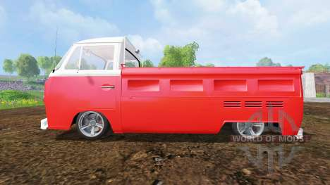 Volkswagen Transporter T2B 1972 [lowered] для Farming Simulator 2015