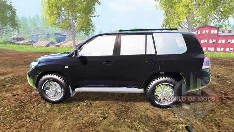 Toyota Land Cruiser 200 [Bergwacht Alpenberg] для Farming Simulator 2015
