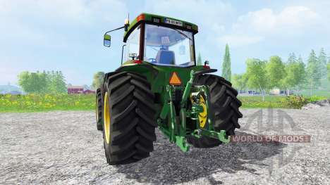 John Deere 8400 v1.5 для Farming Simulator 2015