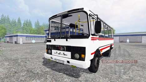 ПАЗ-3205 v2.1 для Farming Simulator 2015