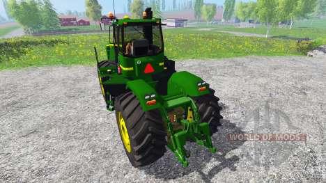 John Deere 9630 v5.0 для Farming Simulator 2015
