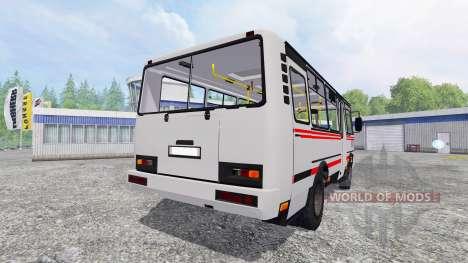 ПАЗ-3205 v2.0 для Farming Simulator 2015