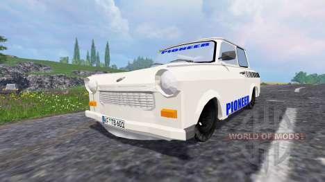 Обновлённый трафик для Farming Simulator 2015
