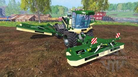Krone Big M 500 [green and black] для Farming Simulator 2015