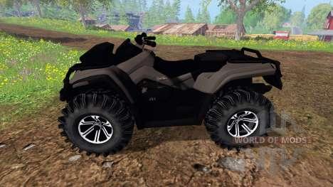 Can-Am Outlander 1000 XT [black] для Farming Simulator 2015