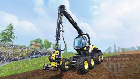 PONSSE Scorpion King v1.0 для Farming Simulator 2015