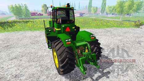 John Deere 9630 v5.1 для Farming Simulator 2015