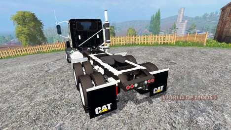 Caterpillar CT660 [edit] для Farming Simulator 2015